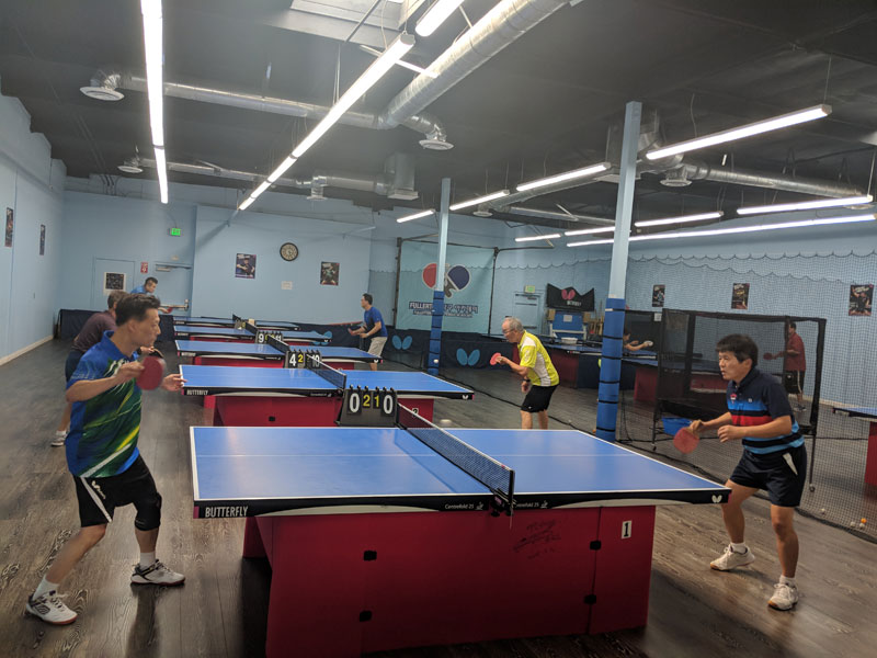 Lessons Fullerton Table Tennis Academy